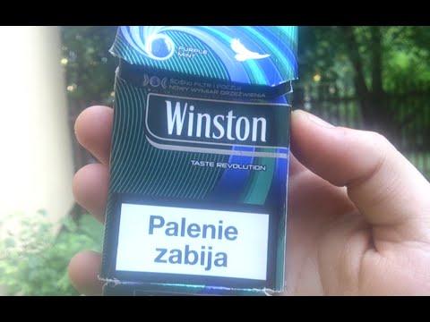 Test #7 - Papierosy #5: Winstony Jagodowe (Klikane) - YouTube