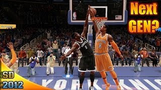 "NBA Live 14 Says ""No"" To Next Gen - Knicks vs Nets Live Commentary"