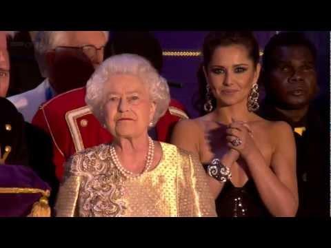 The Queen's Diamond Jubilee Concert [finale & speech] - 4th June 2012