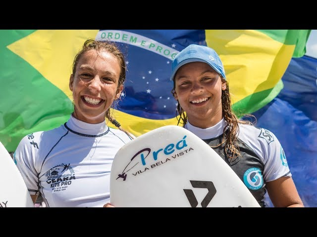 WOMEN'S SINGLES | strapless freestyle kitesurfing action | GKA KITE-WORLD CUP PREA