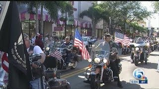 Veteran's Day Parade in Downtown West Palm Beach