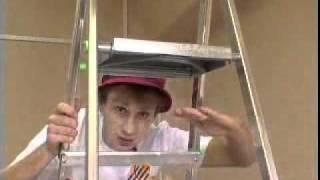 Видео урок по Поклейке потолочной плитки(Видео урок по Поклейке потолочной плитки., 2011-02-02T18:22:54.000Z)