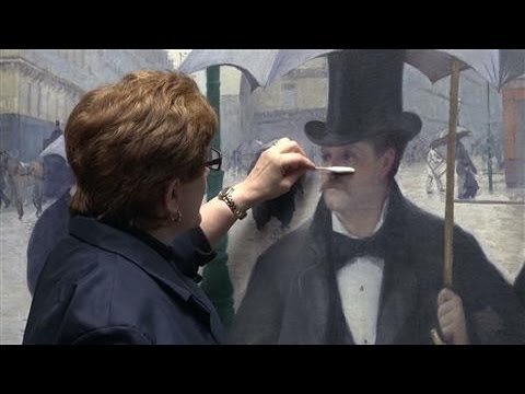 Dramatic Result For Classic Painting's Restoration