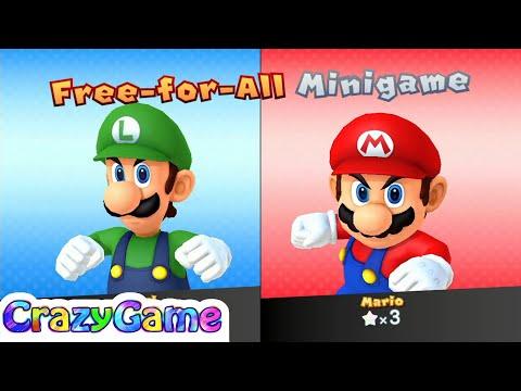 Mario Party 10 Mario Party #14 Luigi vs Mario (Haunted Trail)