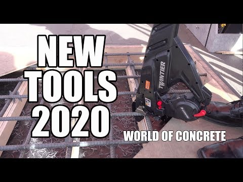 The Coolest Never Seen Tools and Products - World of Concrete 2020