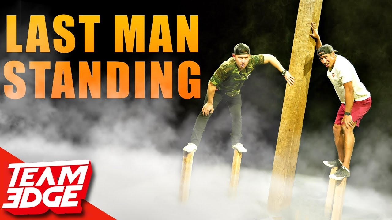 Last Man Touching the Log Wins! *Ultimate Survival Challenge*