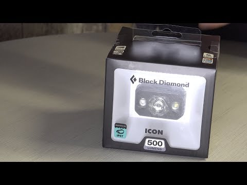 Unboxing Black Diamond Icon 500