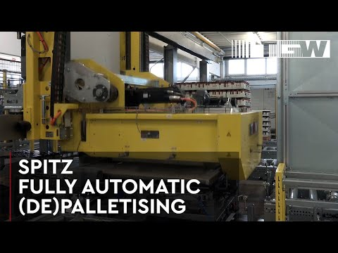 SPITZ - Fully automatic palletising and depalletising