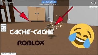 CACHE CACHE WHAT FINIT IN LOL INSULTES??!! | ROBLOX (c) Moroccan Tet??!!