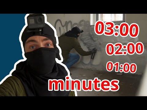 3 - 2 - 1 Minute GRAFFITI CHALLENGE