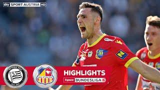 Highlights: tipico Bundesliga, 23. Runde: SK Sturm Graz - SKN St. Pölten 0:1