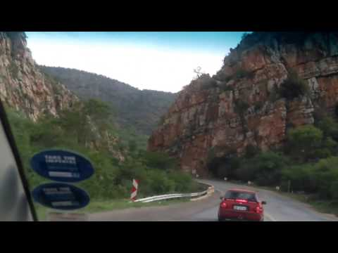 The road to Lebowakgomo from Polokwane Limpopo Province .
