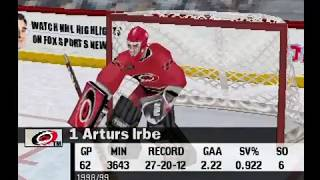NHL Championship 2000 (PSX) Hurricanes vs Lightning