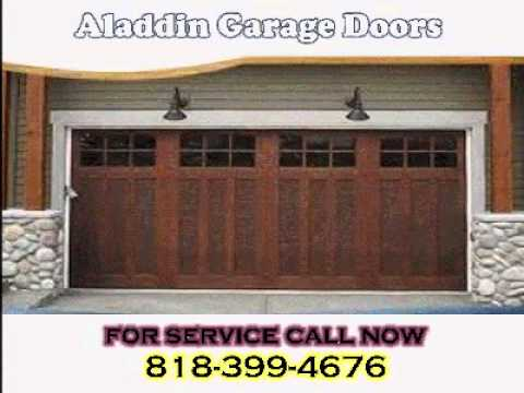 GARAGE DOOR REPAIR CALABASAS BY ALADDIN 818 399 4676