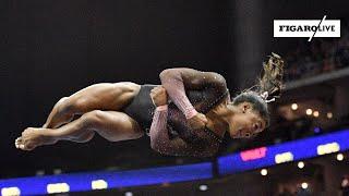 🤸🏾♀️ L'incroyable prestation de Simone Biles, première femme à réaliser un triple-double !