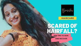 Scared of Hair-fall? 😁 | Haircare |Mysticabymini | Thinkal Bhal | Bhalsisters