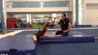 Age Group Programme – Women's Artistic Physical Ability Testing Programme - Flexibility - Exercise 7