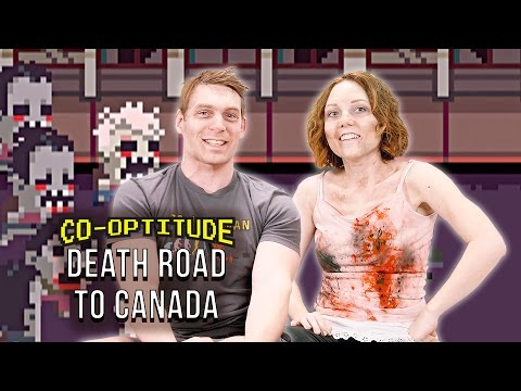 Let's Play Death Road to Canada! (Co-Optitude)
