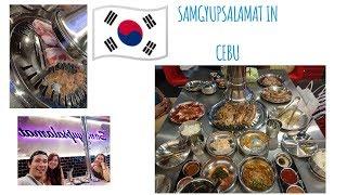 MUST TRY!!!! Samgyupsalamat in Cebu! || Korean BBQ || Korean Food || Cebu's Best Food ||