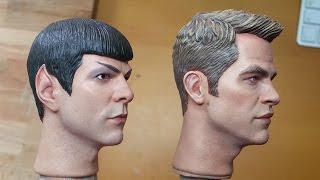 Painting a 1/6 Captain Kirk - Entire process - Part 1