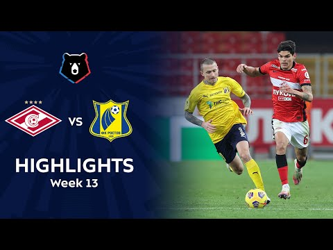 Spartak Moscow Rostov Goals And Highlights