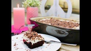 🎂 RUCKZUCK SCHWARZWÄLDER KIRSCHTORTE 🍒 Blitz-Torte ⏰ Zauberhafte Leckereien mit Pampered Chef
