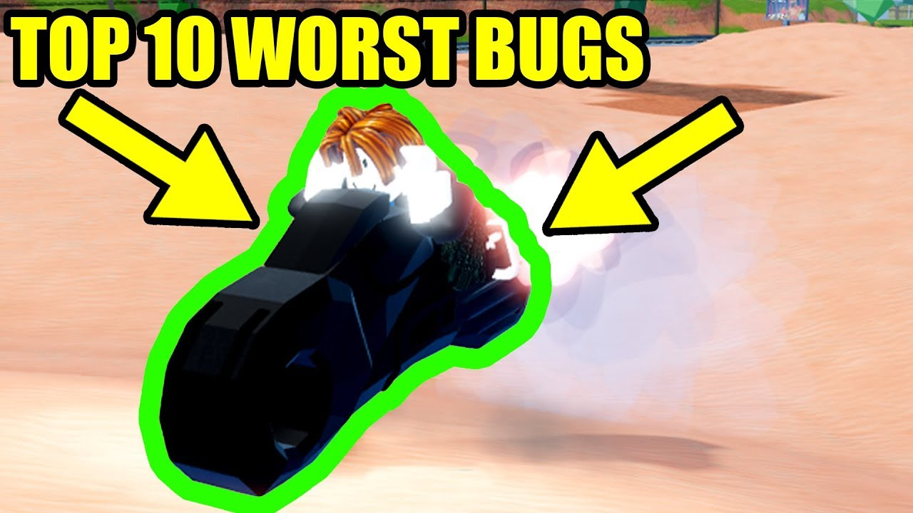 Top 10 Worst Bugs In Roblox Jailbreak Youtube