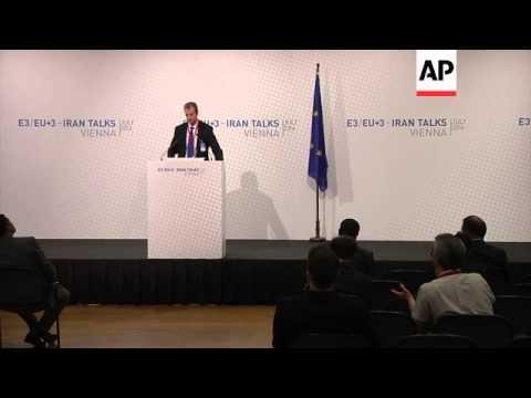 Ashton spokesman on start of nuclear talks between Iran and P5+1