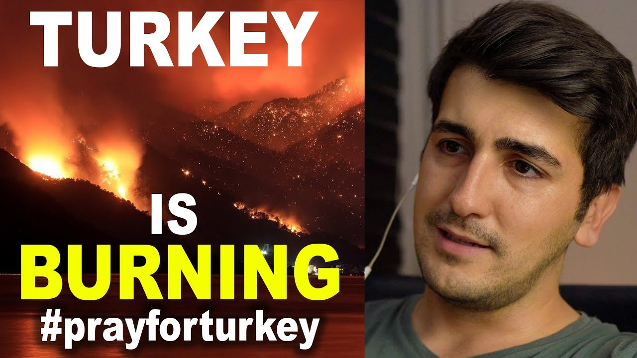 DONATE FOR THE FIRES IN TURKEY! (Turkey is Burning!) @TravelComic
