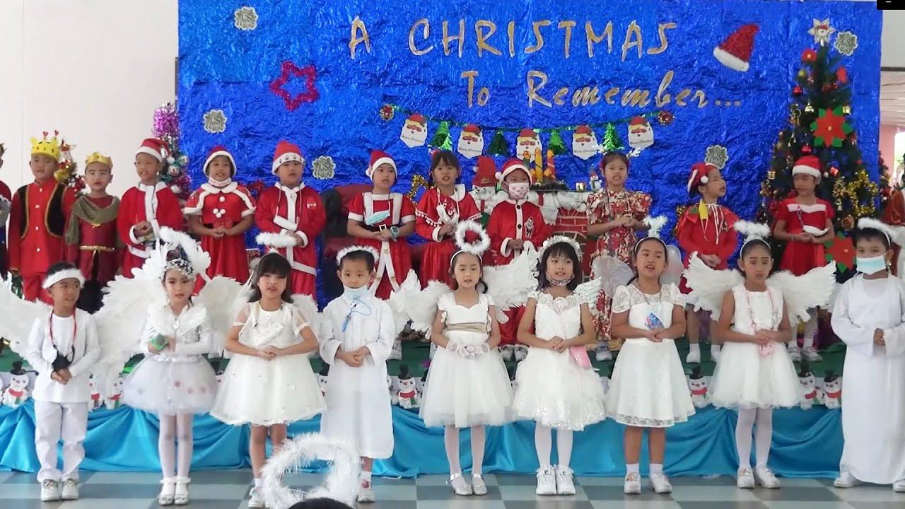Merry christmas2021APL  วันคริสต์มาส สายชั้นปฐมวัย  โรงเรียนอนุบาลพนัสศึกษาลัย