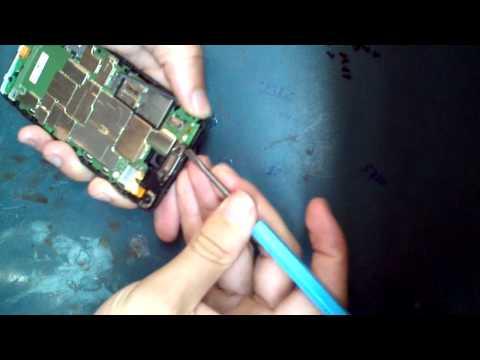 Razr i Desmontando, trocando a bateria XT890 Motorola disassembly battery