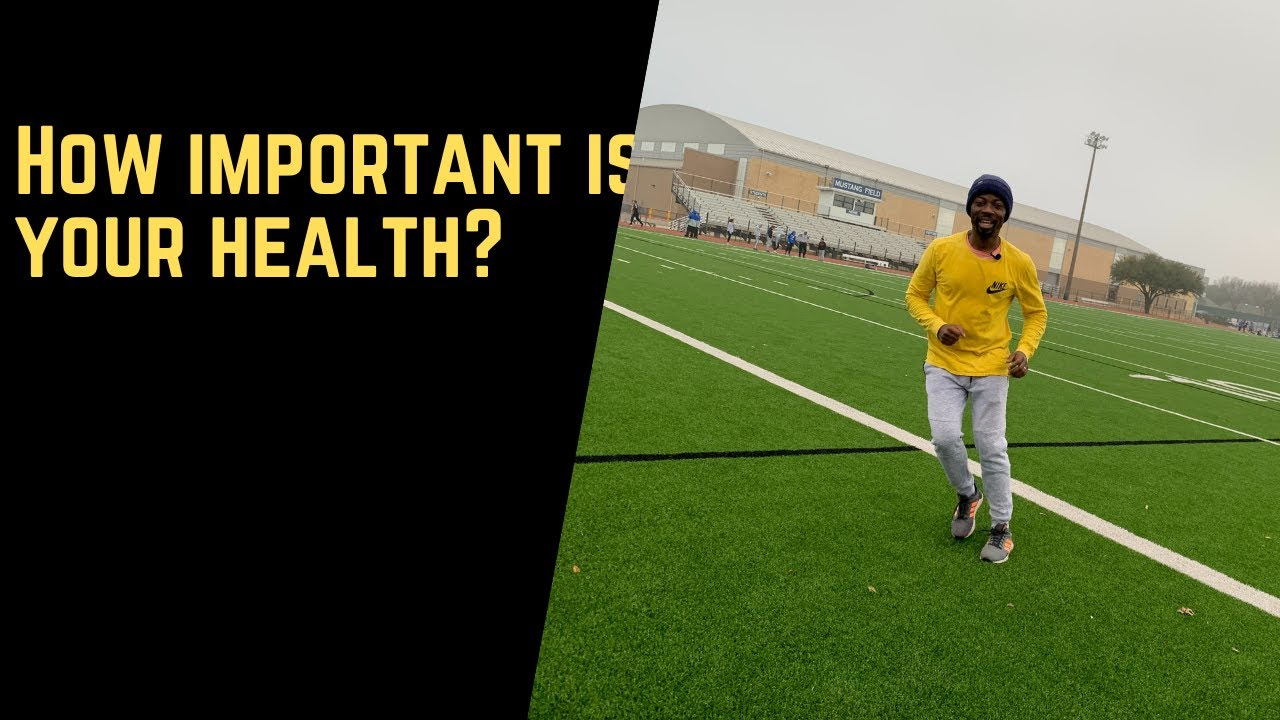 How important is your health?