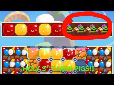 ANGRY BIRDS BLAST #19 - Mighty League 4/13/2018 - Level 11 - PAINTER PIGS??