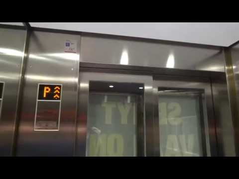 KONE (mod.) Traction Elevators @ Forum Shopping Mall, Helsinki, Finland.