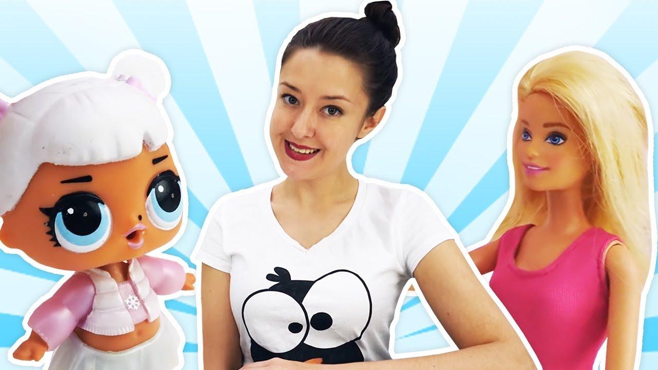 Видео про Куклы Лол, Барби и их друзей: изучаем технику ...