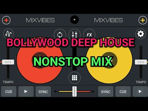 BOLLYWOOD DEEP HOUSE NONSTOP MIX ON CROSS DJ