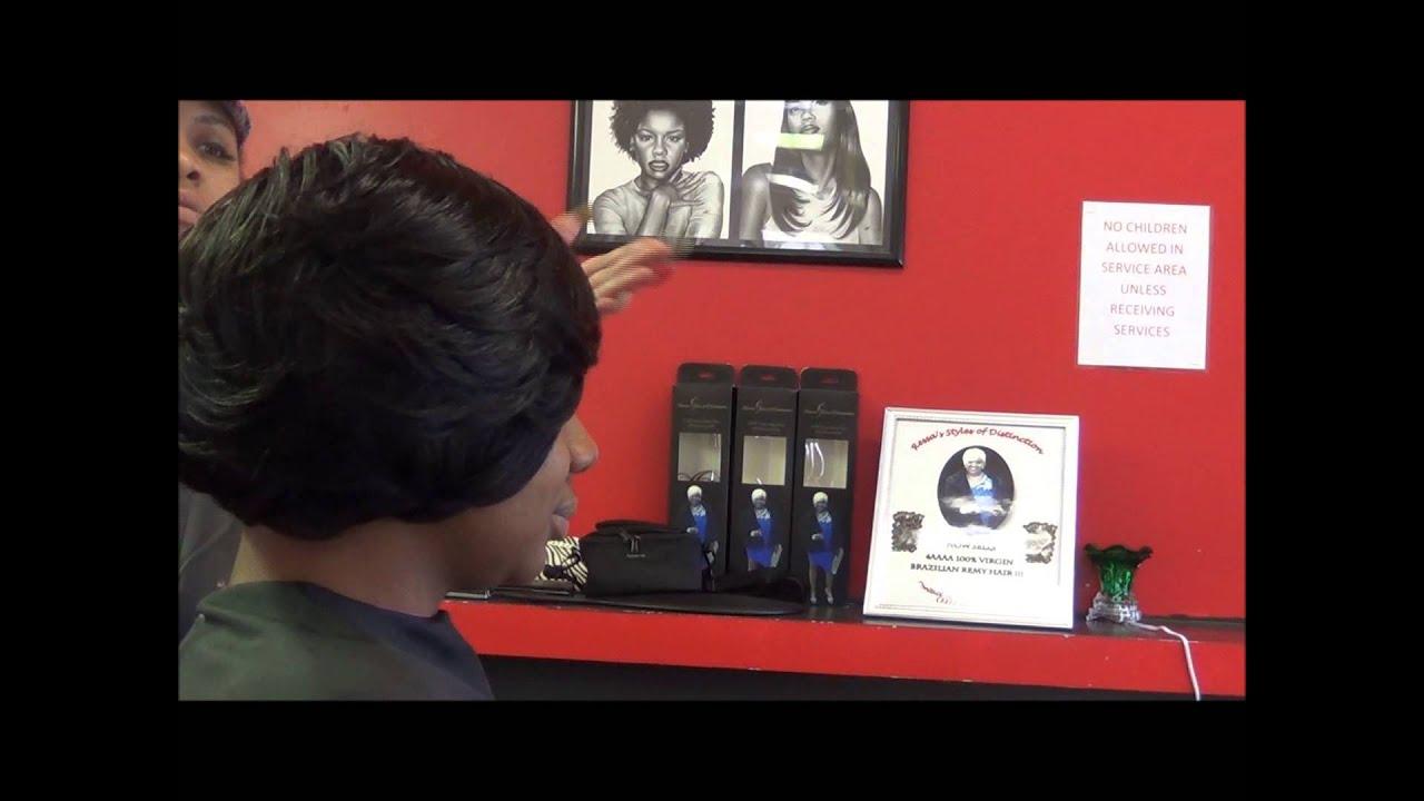 Duby Hair Weave Styles: Quick Weave Remi Velvet Hair