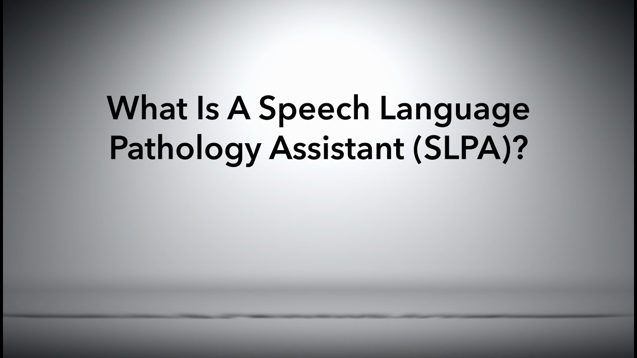 essay on speech pathology It is hard to believe that i have spent the last 26 years working as a speech-language pathologist 1246 speechpathologycom article.