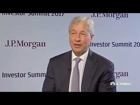 Jamie Dimon says Bitcoin & Ethereum crazy will end badly!!