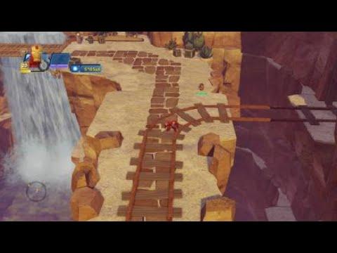 Disney Infinity 3.0 leveling up Hawkeye to max level (level 20) part 4 |