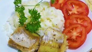 Домашние видео-рецепты - паровая рыба и отварной рис в мультиварке