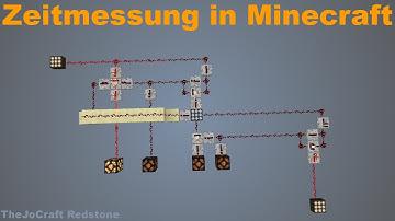 ZEITMESSUNG in Minecraft | Tutorial