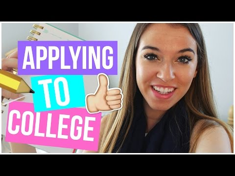 APPLYING TO COLLEGE: How to get into college!