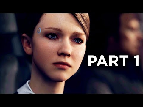 Detroit Become Human Gameplay Walkthrough Part 1 - INTRO (Full Game)