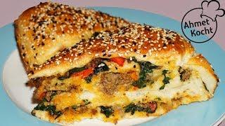 Börek mit Hackfleisch und Spinat | Ahmet Kocht | türkisch kochen | Folge 293