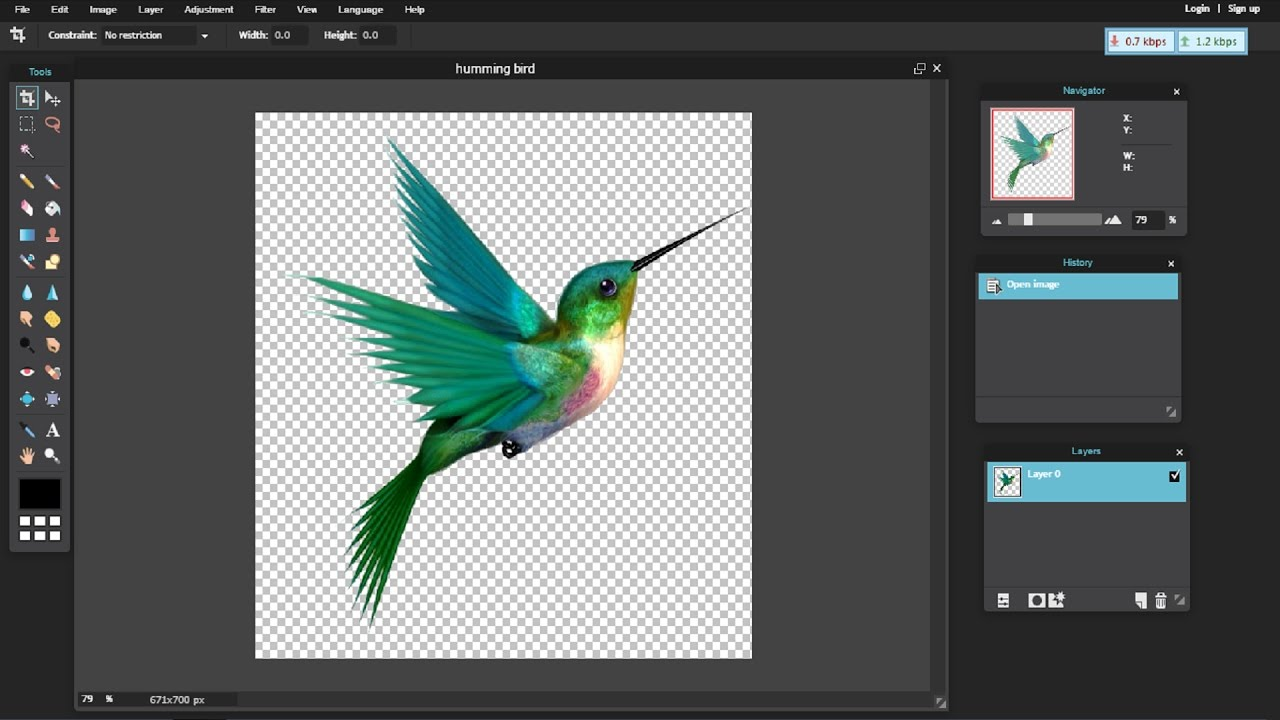 How To Make Your Picture Background Transparent By Using
