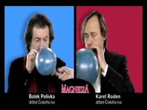 Magnesia: Karel Roden & Bolek Polívka reklama 1