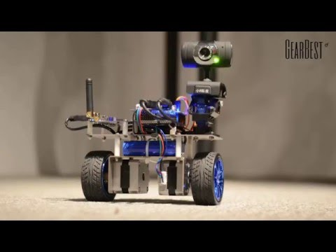 STM32 Dual Wheel Self-balanced Video Car Robot - Gearbest.com