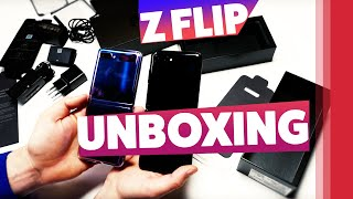 Samsung Galaxy Z Flip Unboxing (deutsch)