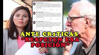 ASÍ SE DEFIENDE ABOGADA DE CRITIC4S por defender a Paolo Luers